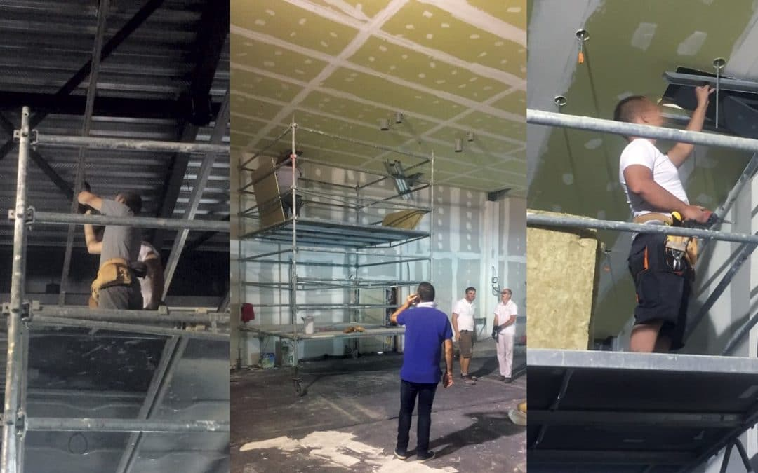 Un chantier de rénovation : Le Ninkasi Gerland